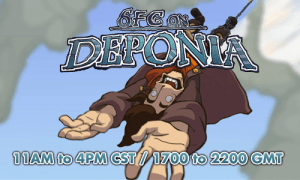 Gift Artwork in honor of Chaos on Deponia