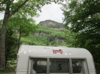 Then off to NH, where we stayed at Dry River State Park.