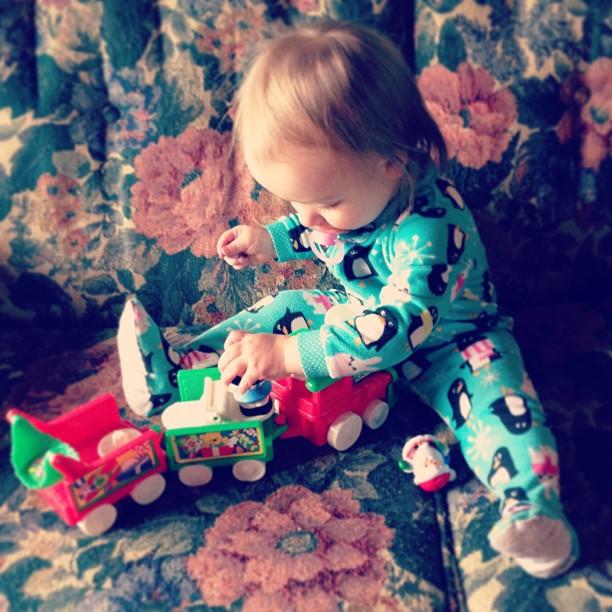 Santa train!