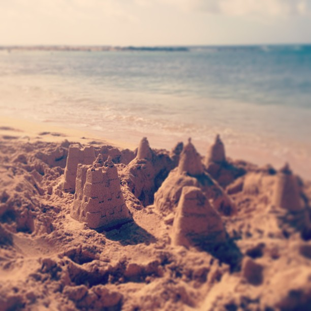 Castle in the sand