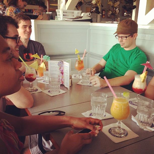 Fruity drinks!