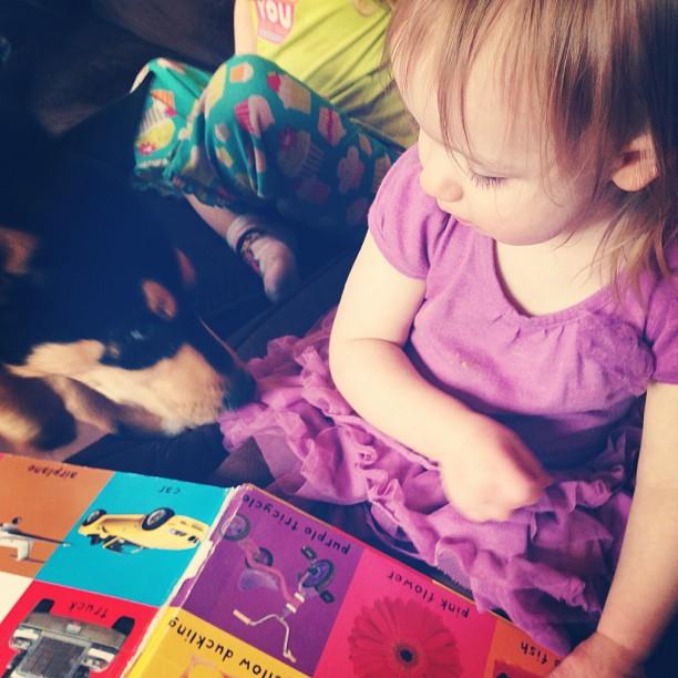 """Whatcha readin'?"""