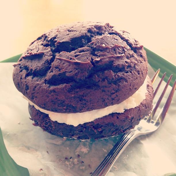 My dessert, in true Maine fashion. You're next, Whoopie.
