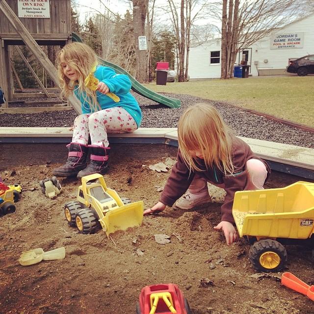 Diggin in the dirt