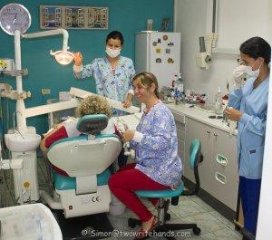 Dra Serrano at work