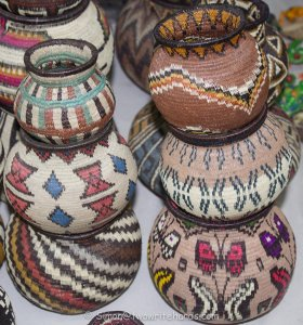 Embera-Wounaan Indian Baskets