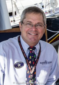 Bill Bolin, Vice President of Marketing and Sales for Island Packet Yachts and Blue Jacket Yachts