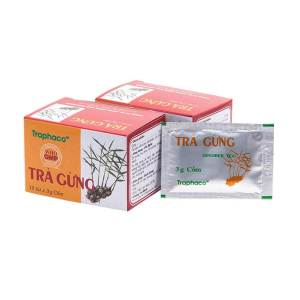Pure Instant Ginger Tea (Traphaco), Reduces Chronic Pains, heartburn