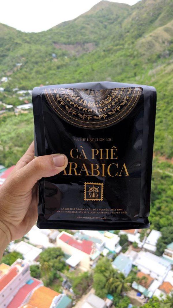Arabica Coffee Dalat Organic S18 Cau Dat 500g
