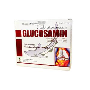 GLUCOSAMIN 500 mg Huong Hoang GLUCOSAMINE FROM VIETNAM