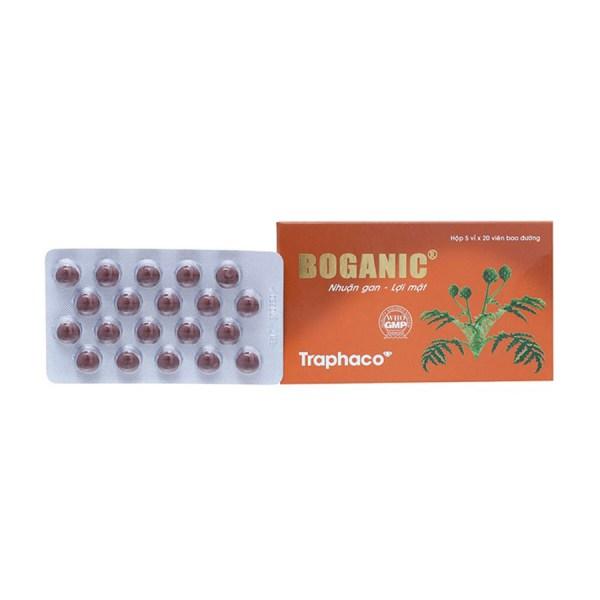 Liver remedy Boganic 100 tablets