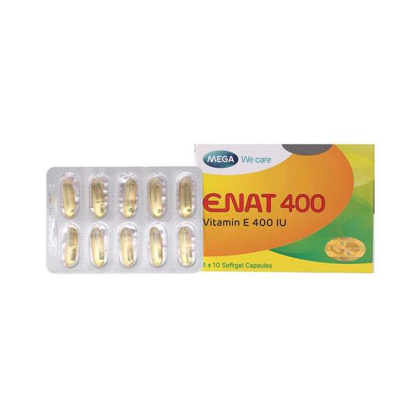 Enat 400 Vitamin E from Vietnam