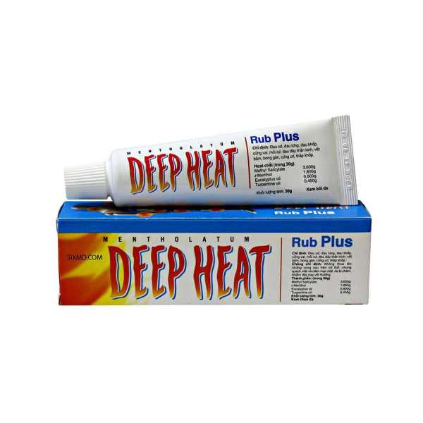 Buy Deep Heat Rub Plus 30g Vietnam