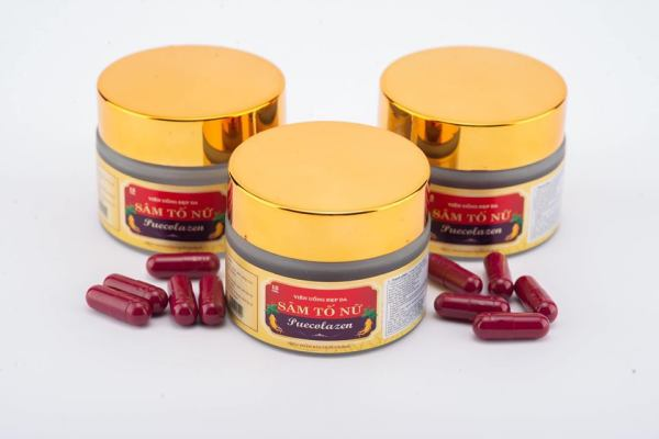 Reduces skin aging, promotes lightening and smoothing. Female Ginseng capsules
