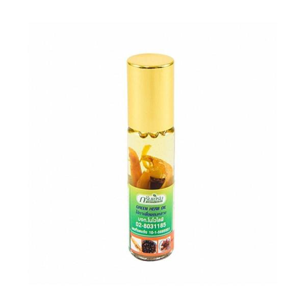 Green Herb Oil Thai 8 ml - Oil Inhaler from Thailand