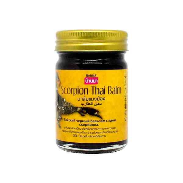 Black Scorpion Thai Balm Banna 50 gramm