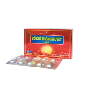 Bo Khi Thong Huyet Herbal capsules from Vietnam