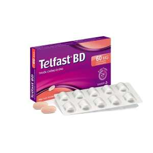 Telfast BD 10 tablets