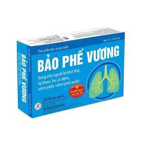 Bao Phe Vuong - Reduce phlegm, reduce cough, help reduce bronchitis symptoms.