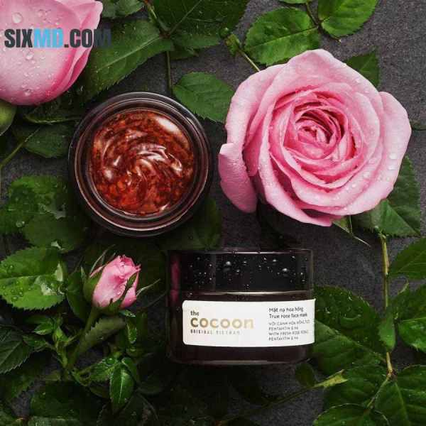 Cosmetics from Vietnam, face mask Cocoon True Rose Face Mask 30ml