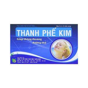 Thanh Phe Kim from Vietnam - Helps protect the lungs and effectively clears the airways