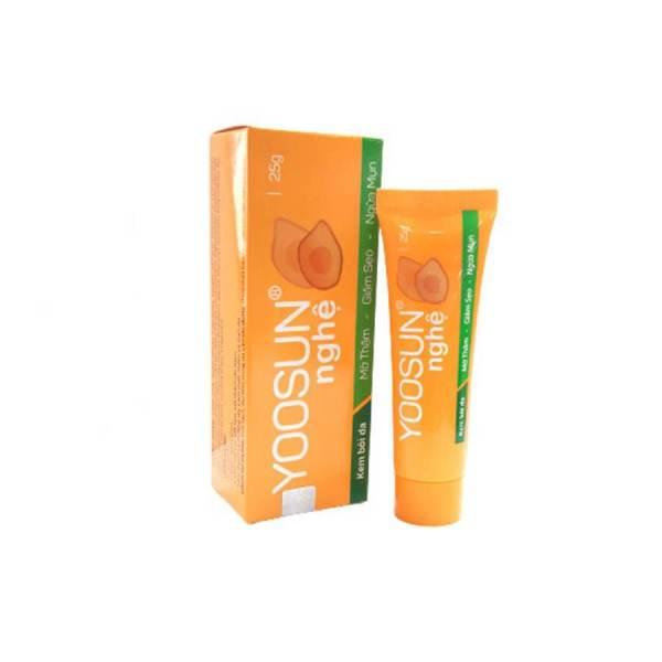 yoosun nghe tumeric cream reduce acne