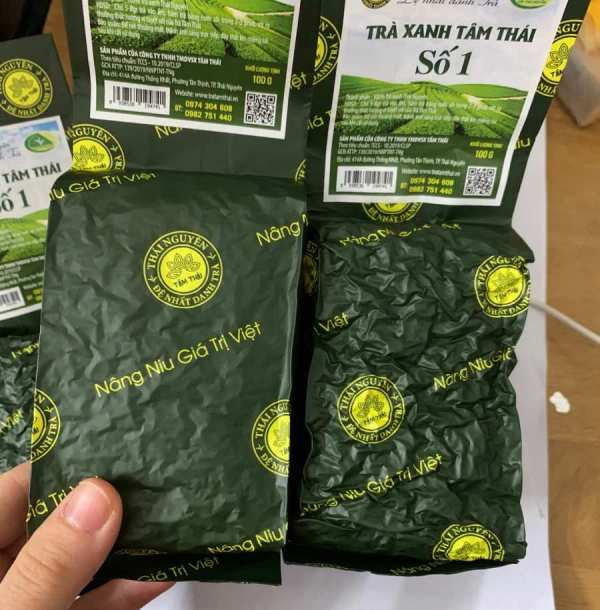 Tra Thai Nguyen 100g from Vietnam
