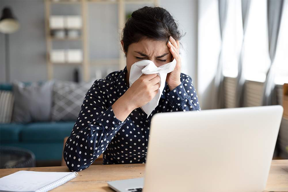 Damaged immune system when often angry