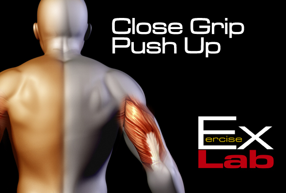 Close Grip Push Up : The Best Tricep Exercises