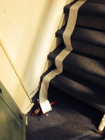 elf toilet stairs