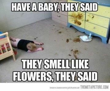 crib poop