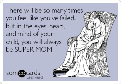 mom guilt card