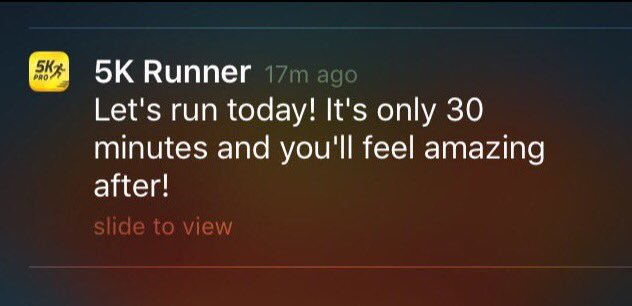 runkeeper notice