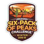 Arizona Six-Pack of Peaks Challenge - Winter 2018/19