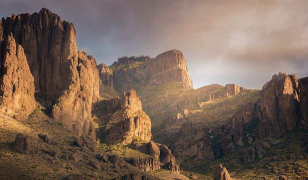 Flatiron in the Superstition Mountains