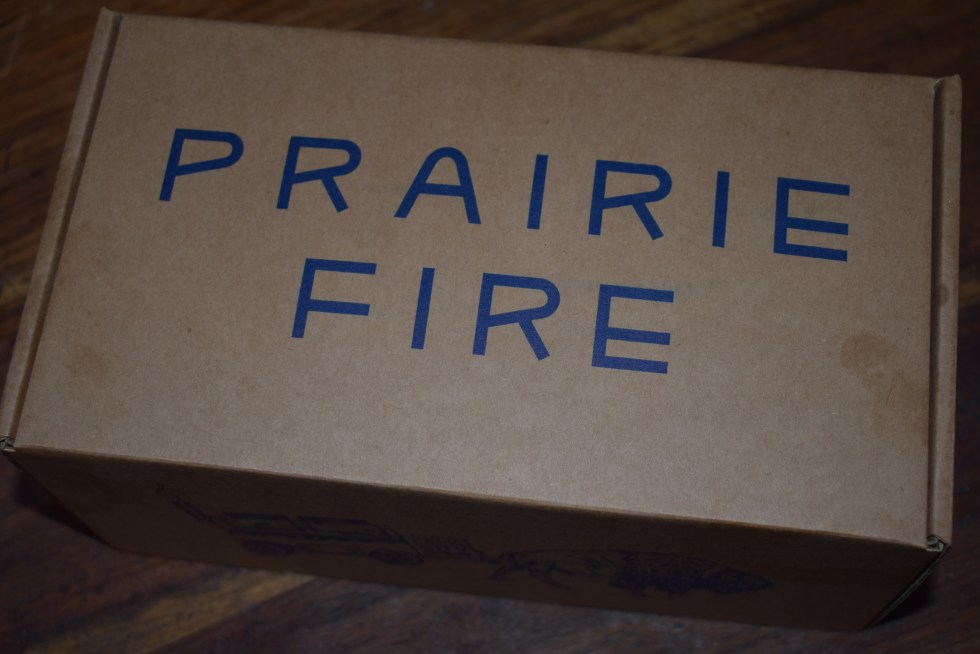Prairie Fire takeaway box