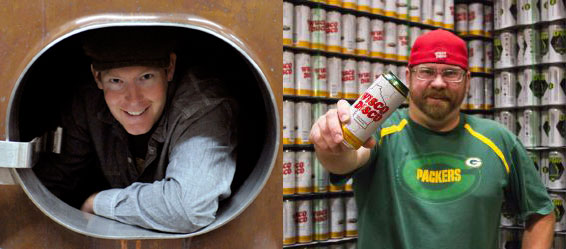 Sixpoint's Shane Welch and Stillmank Beer Co's Brad Stillmank
