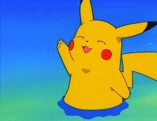 pikachu peace happy