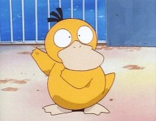 psyduck shocked