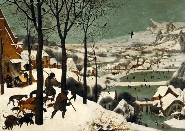 hunters in the snow winter pieter bruegel the elder