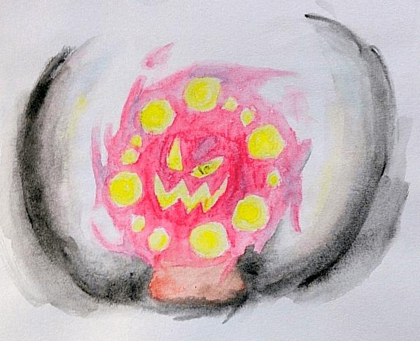 spiritomb watercolor