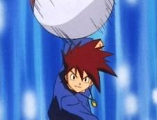 gary oak throw pokeball