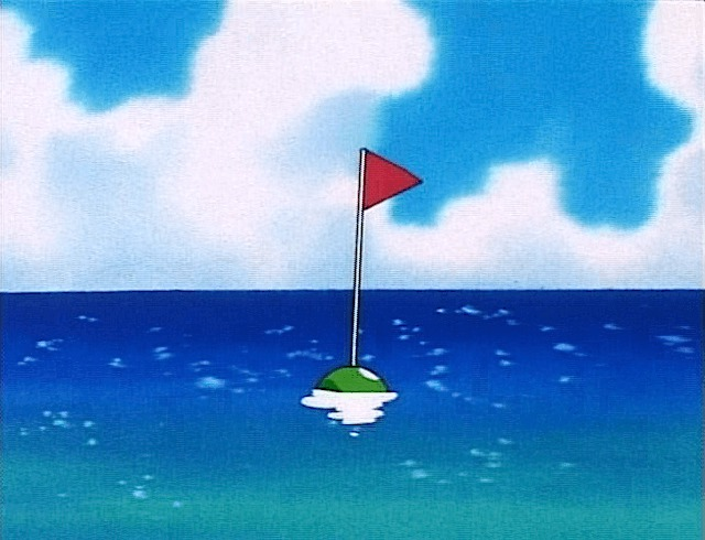 buoy flag water