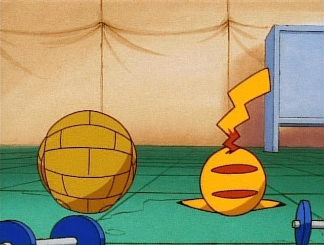 pikachu sandshrew ball