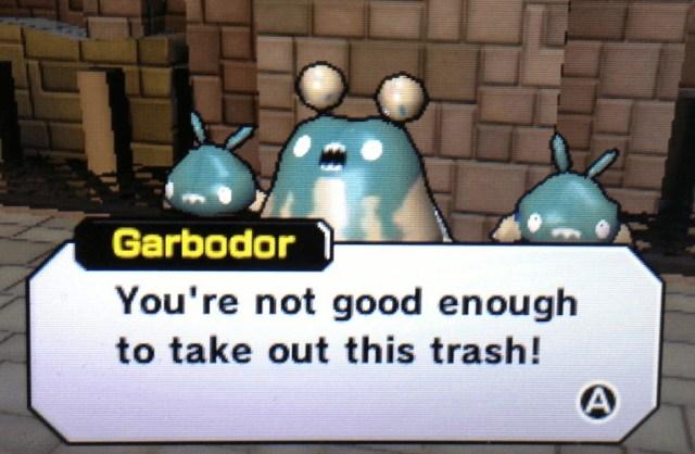 garbodor trubbish xy video game