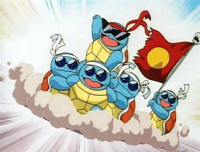 squirtle squad flag