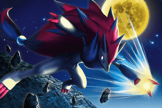 zoroark dex artwork
