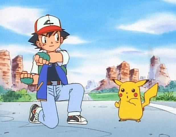 ash pikachu boxing practice punching