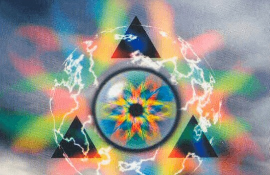 delta rainbow energy artwork