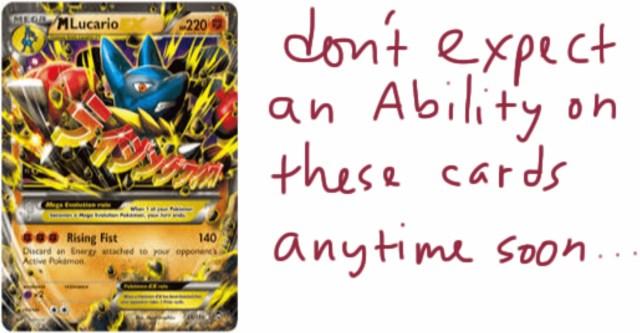 m lucario-ex no ability